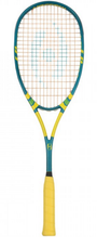 Harrow Sublime Squash Racquet, Teal / Green / Yellow