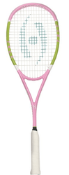 SAVE $70 - Harrow Vapor Prep Squash Racquet, Pink / Lime / White