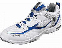 Yonex SHB-72EX Power Cushion Unisex Court Shoes, White / Silver