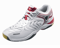 Yonex SHB-92MX Power Cushion Men's Court Shoes, White / Red