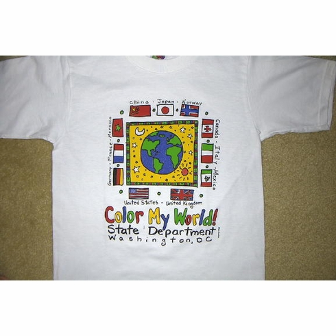 Color My World T-Shirts
