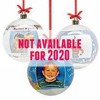 Acrylic Ball Personalized Photo Ornaments