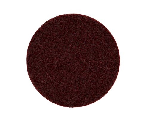 "3M™ 048011-00645 Scotch-Brite™ SC-DH Maroon 7"" Medium Grade Non-Woven Hook and Loop Disc"
