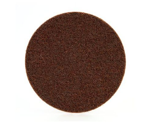 "3M™ 048011-00751 Scotch-Brite™ SC-DH Brown 7"" Coarse Hook and Loop Disc"