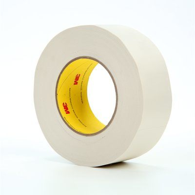 "3M� 021200-04277 Scotch� 365 White 8.3 Mil Thermosetable Glass Cloth Tape - 2"" x 60 Yard Roll"