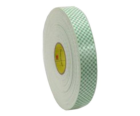 "3M� 021200-04865 Off-White 4016 Double 62.5 Mil Coated Urethane Foam Tape - 2"" x 36 Yard Roll"