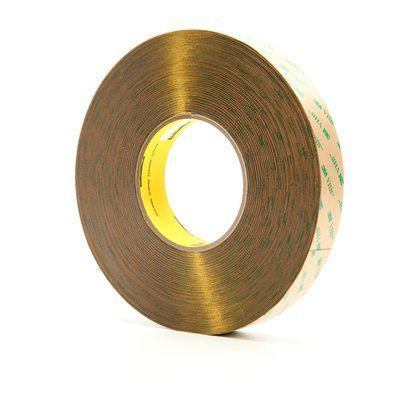 "3M� 021200-13972 VHB� F9473PC Clear 10 Mil Adhesive Transfer Tape - 1/2"" x 60 Yard Roll"
