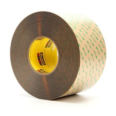"3M� 021200-15685 VHB� F9473PC Clear 10 Mil Adhesive Transfer Tape - 4"" x 60 Yard Roll"