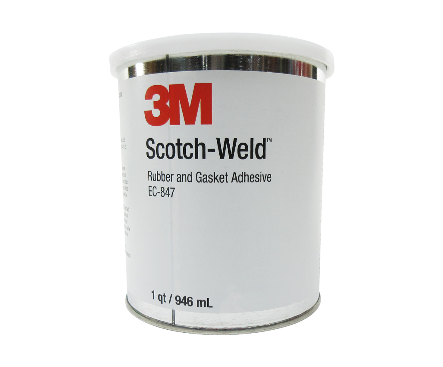3M™ 021200-19722 Scotch-Weld™ EC-847 Brown Rubber & Gasket Adhesive - Quart  Can