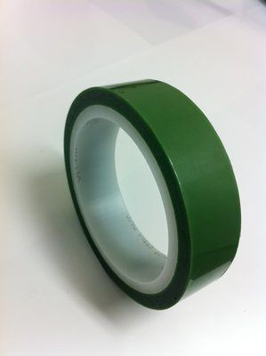 "3M™ 021200-31771 Green 851 Greenback 4 Mil Printed Circuit Board Tape - 1"" x 72 Yard Roll"
