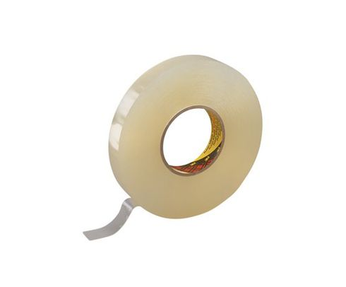 """3M� 021200-38545 Scotch� 4658F Clear 31.25 Mil Double Coated Removable Foam Tape - 1"""" x 27 Yard Roll"""
