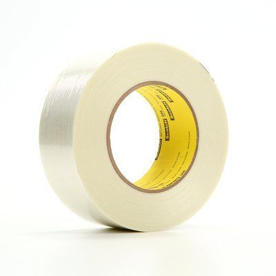 3M� 021200-39869 Scotch� 898 Clear 6.6 Mil Filament Tape - 48 mm x 55 m Roll