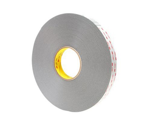 "3M� 021200-64888 VHB� 4941 Gray 45 Mil Acrylic Foam Tape - 1"" x 36 Yard Roll"