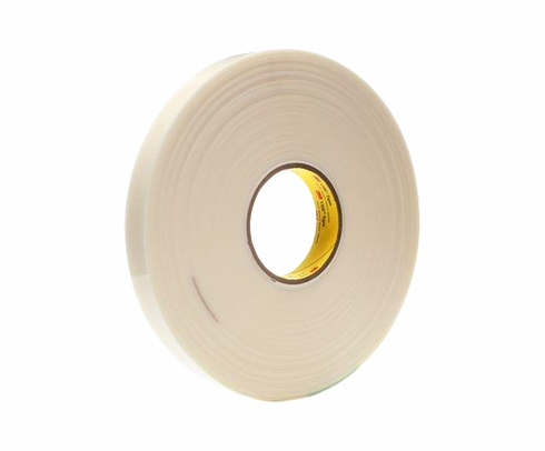 "3M™ 021200-67287 VHB™ 4951 White 45 Mil Acrylic Foam Tape - 1"" x 36 Yard Roll"
