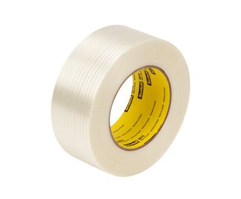 3M� 021200-69397 Scotch� 311 Clear 2 Mil Box Sealing Tape - 72 mm x 100 m Roll