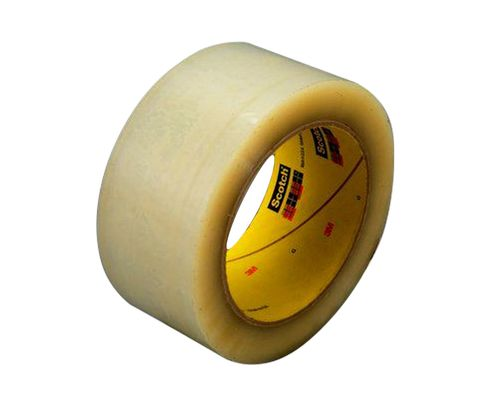 3M� 021200-72330 Scotch� 355 Clear 3.4 Mil Box Sealing Tape - 48 mm x 50 m Roll