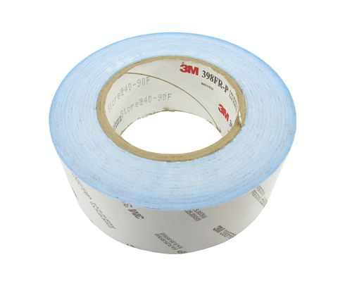 "3M� 021200-96676 White 398FRP Glass 7 Mil Cloth Tape - 2"" x 36 Yard Roll"