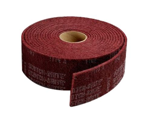 "3M� 048011-00276 Scotch-Brite� Vfn Maroon 6"" X 30 Ft Very Fine Clean And Finish Roll"
