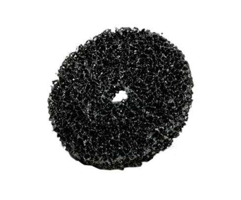 "3M� 048011-00942 Scotch-Brite� Cs-Dc Black 4"" Very Coarse Clean Strip Disc"