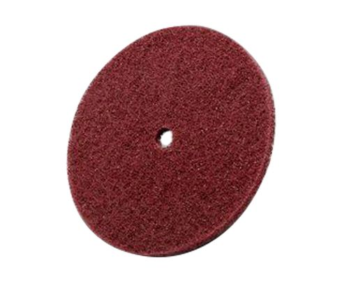 "3M™ 048011-04188 Scotch-Brite™ Hs-Dc Red 6"" Medium Grade High Strength Disc"