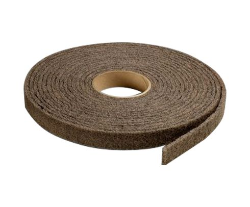 "3M™ 048011-05206 Scotch-Brite™ CP-RL Brown 2"" Medium Cut & Polish Deburring Roll"