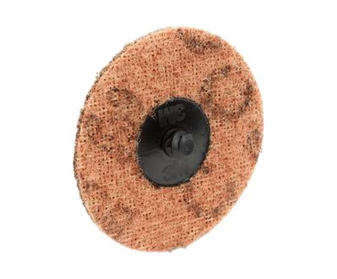 "3M™ 048011-05532 Scotch-Brite™ Roloc™ Sc-Dr Brown 3"" Coarse Surface Conditioning Disc"