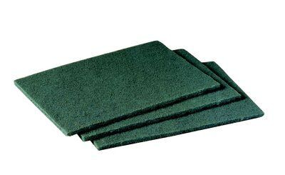 "3M™ 048011-08293 Scotch-Brite™ 96 Green 6"" X 9"" Medium General Purpose Scouring Pad - 20 Pads/Box"