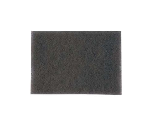 "3M™ 048011-14049 Scotch-Brite™ 7448B Gray 6"" X 9"" Ultra Fine Hand Pad - 60 Bulk Pad/Case"