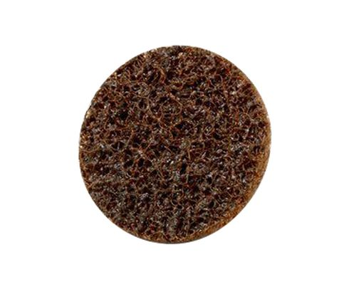 "3M™ 048011-15393 Scotch-Brite™ Roloc™ Sc-Dr Brown 1"" Coarse Surface Conditioning Disc"