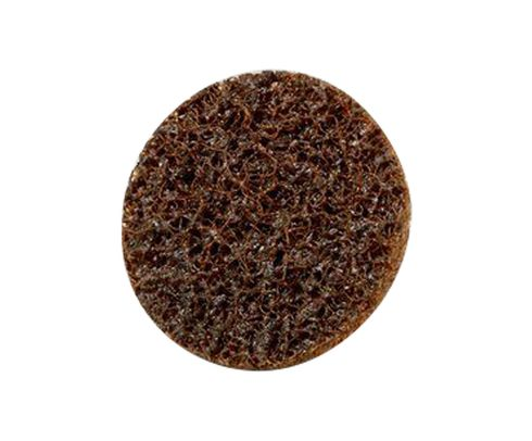 "3M™ 048011-16508 Scotch-Brite™ Roloc™ Sc-Ds Brown 1"" Coarse Surface Conditioning Disc"