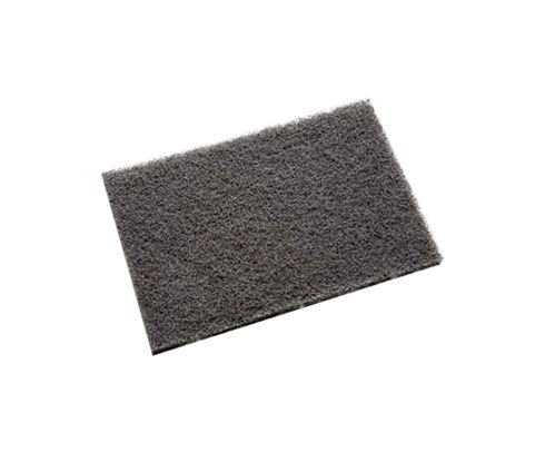 "3M™ 048011-18453 Scotch-Brite™ 7446B Gray 6"" X 9"" Medium Blending Hand Pad - 40 Bulk Pad/Case"