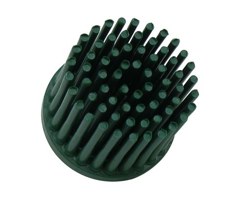 "3M� 048011-18698 Scotch-Brite� Roloc� RD-ZB Green 1"" X 5/8"" 50 Grit Tapered Grade Bristle Disc"