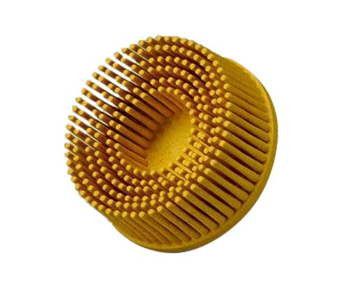 "3M� 048011-18732 Scotch-Brite� Roloc� RD-ZB Yellow 2"" 80 Grit Ceramic Bristle Disc"