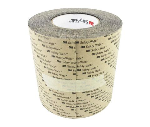 """3M™ 048011-19224 Safety-Walk™ 610 Black Slip-Resistant General Purpose Tapes & Treads - 6"""" x 60' Roll"""