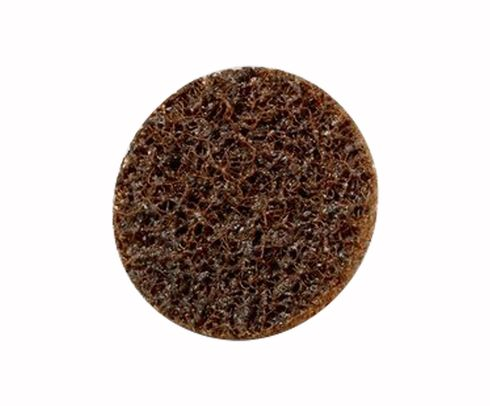 "3M™ 048011-25775 Scotch-Brite™ Roloc™ Sc-Dm Brown 1 1/2"" Coarse Surface Conditioning Disc - 50 Discs/Pack"