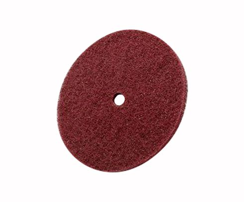 "3M™ 048011-27745 Scotch-Brite™ Hs-Dc Maroon 6"" Medium High Strength Disc - 40 Discs/Pack"
