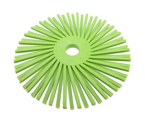 "3M� 048011-33227 Scotch-Brite� RB-ZB Green 3"" 360 Grit Radial Bristle Disc"