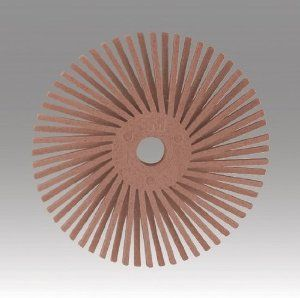 3M� 048011-33228 Scotch-Brite� 3 In X 3/8 In Salmon Radial Bristle Disc