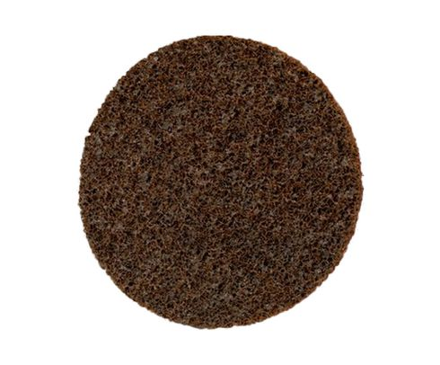 "3M™ 048011-33811 Scotch-Brite™ Sl-Dh Brown 4 1/2"" Coarse Surface Conditioning Disc - 50 Discs/Case"