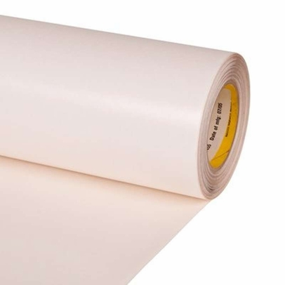 "3M� 048011-53379 Transparent 8667HS Non-Skip 28 Mil Slit Liner Polyurethane Protective Tape - 6"" x 36 Yard Roll"