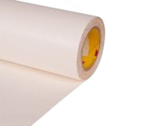 "3M™ 048011-63691 White 8657DL Polyurethane 18 Mil Protective Tape - 24"" x 36 Yard Roll"