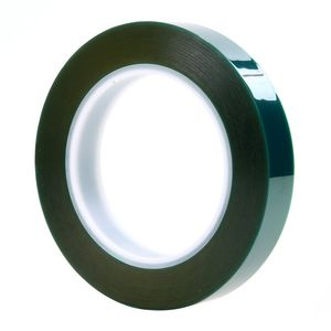 """3M� 051111-07231 Green 8992 Polyester Tape - 2"""" x 60 Yard Roll"""