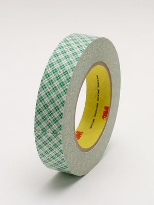 "3M� 051115-31651 Scotch� 401M Off-White 9 Mil Double Coated Paper Tape - 2"" x 36 Yard Roll"