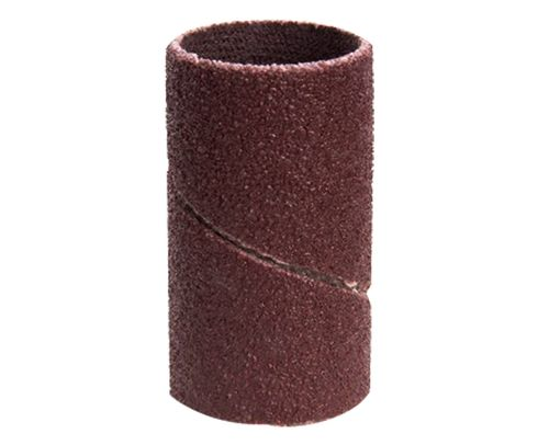 "3M™ 051144-40241 341D Brown 3/4"" 80 Grit Cloth Band - 100 Bands/Pack"