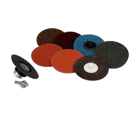 "3M™ 051144-82900 Roloc™ 983S 3"" Disc Pack - 5/Case"