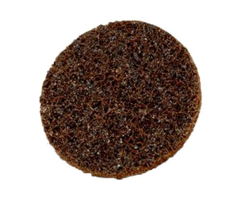 "3M™ 048011-07458 Scotch-Brite™ SC-DH Brown 2"" Coarse Hook & Loop Surface Conditioning Disc"