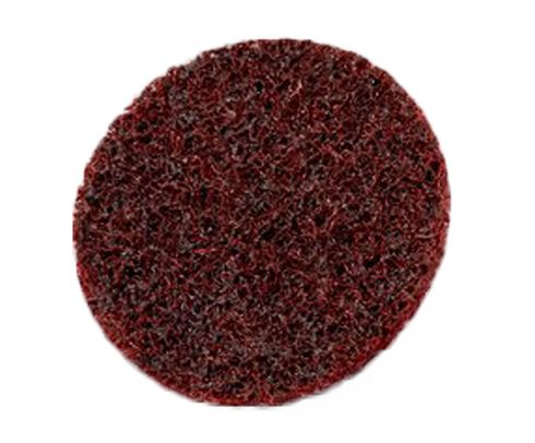 "3M™ 048011-07459 Scotch-Brite™ SC-DH Maroon 2"" Medium Hook & Loop Surface Conditioning Disc"