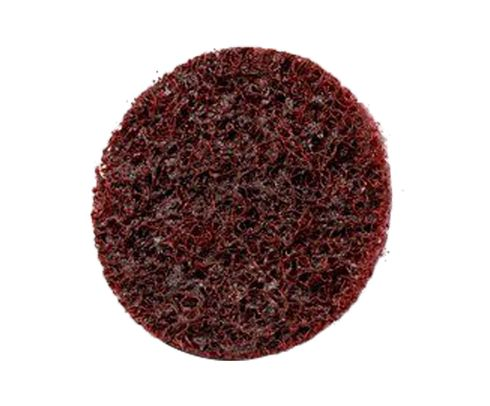 "3M� 048011-07481 Scotch-Brite� Roloc� Maroon 2"" Medium Surface Conditioning Disc - 25 Discs/Box"