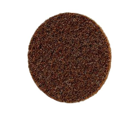 "3M� 051131-07485 Scotch-Brite� Roloc� Brown 3"" Coarse Surface Conditioning Disc - 25 Discs/Case"