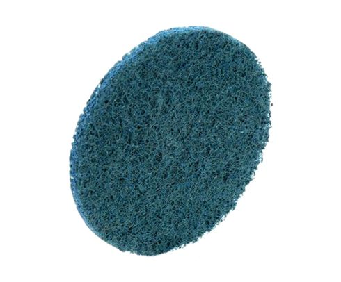 "3M� 051131-07515 Scotch-Brite� Roloc� Blue 2"" Very Fine Surface Conditioning Disc - 25 Discs/Box"